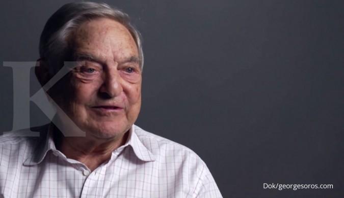 Wow! George Soros sumbangkan 80% harta kekayaannya