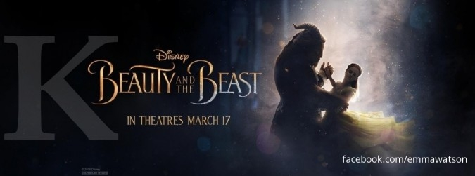 Mereguk cuan dari film Beauty and The Beast