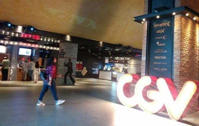 CGV Cinemas targetkan pendapatan tumbuh 60%