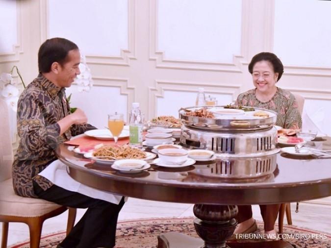 Jokowi dijamu sayur lodeh buatan Megawati