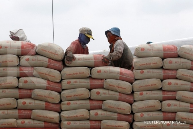 Penjualan semen SMCB turun 12,1% kuartal 1