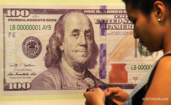 Pelemahan dollar reda, Rupiah melandai lagi
