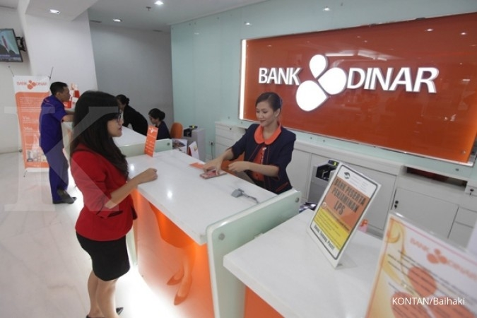 Kredit UMKM Bank Dinar sudah 24,9%
