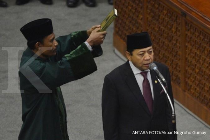 Novanto temui Prabowo, apa yang dibicarakan?