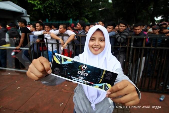 2 jam, tiket kategori III Indonesia-Vietnam ludes