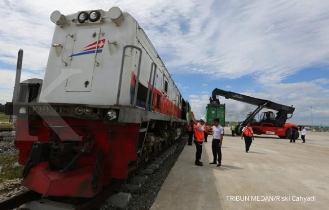 Kereta BCS Logistics beroperasi