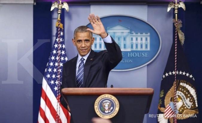 Barack Obama bersiap meninggalkan Gedung Putih