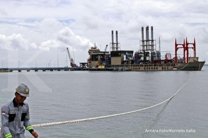 Sumbagut surplus 212 MW usai kapal pembangkit tiba