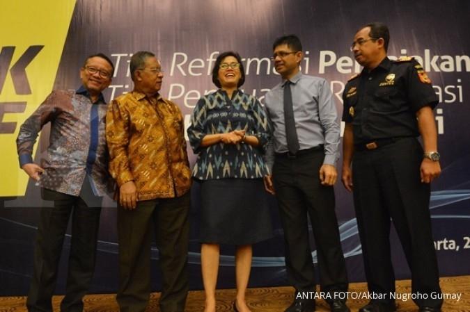Tugas tim reformasi membentuk institusi pajak