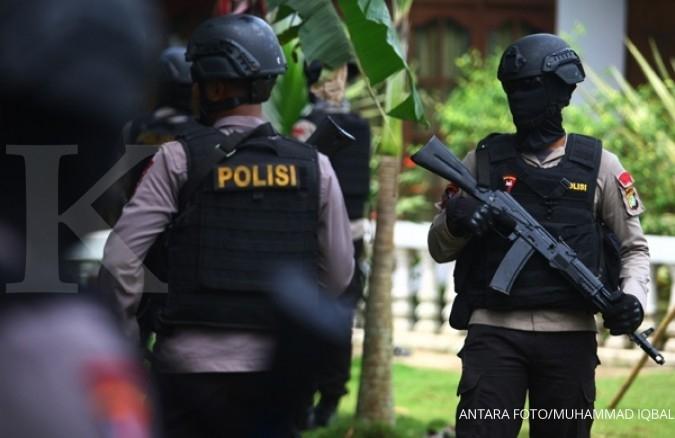 Tiga terduga teroris ditangkap di Jateng