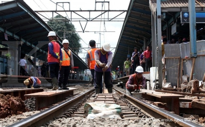 Proyek integrasi antar moda di Stasiun Tebet kelar