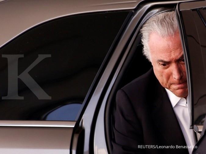 Bursa Brasil merosot 8% terjegal skandal presiden
