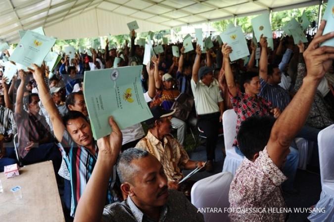 Target 5 juta sertifikat tanah sulit dicapai