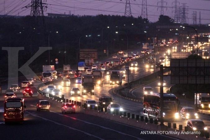 Kemacetan di Tol Jakarta-Cikampek mulai terurai