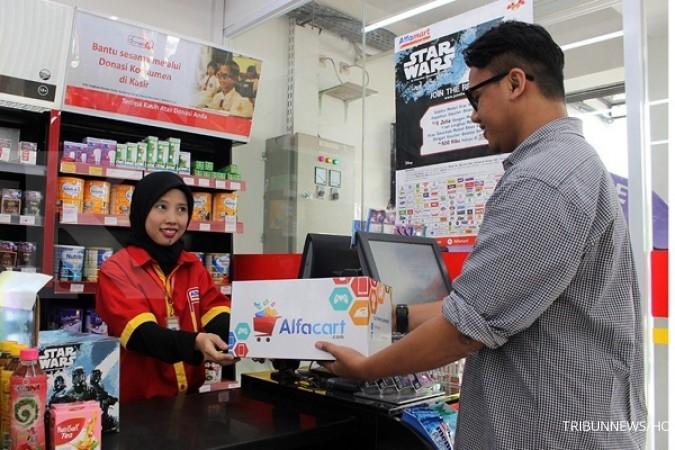 AMRT target tambah 1.200 gerai Alfamart