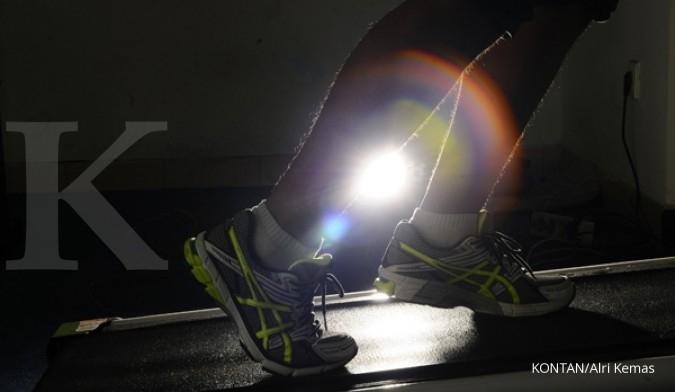 Olahraga lari membahayakan lutut?
