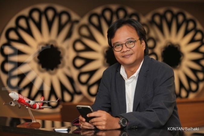 Bos Airasia Indonesia hobi koleksi bola golf