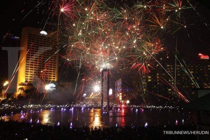 Pekerja MRT ramaikan perayaan Tahun Baru