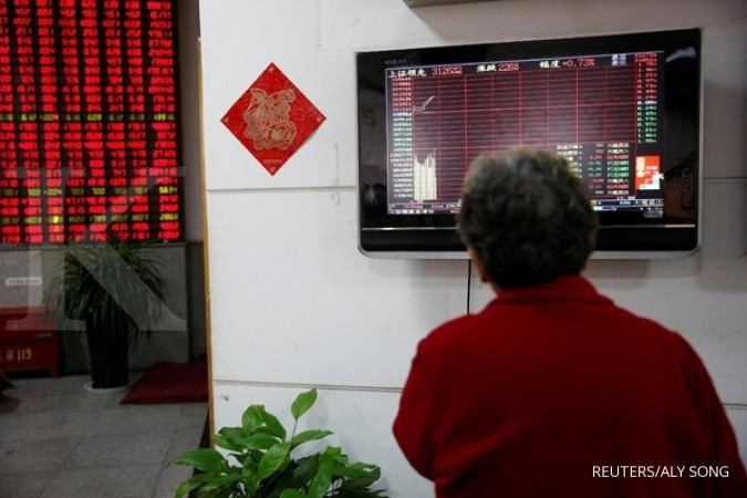 Bursa Asia naik pasca Moody's potong rating China