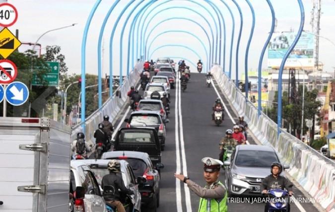 Empat flyover di Jateng dibuka untuk mudik