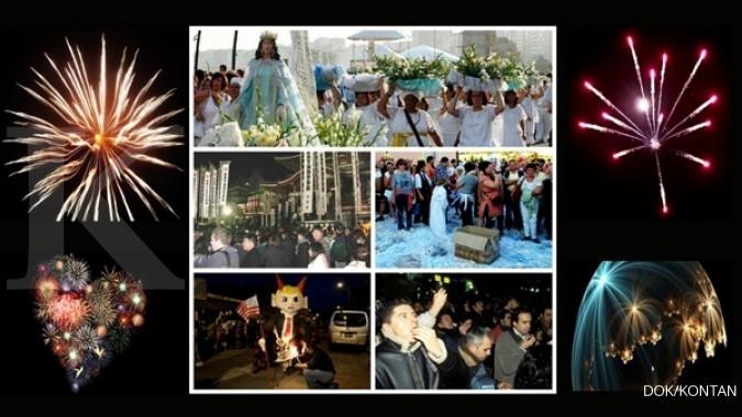 5 Perayaan tahun baru terunik di dunia