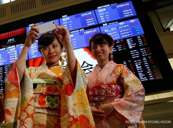 Abaikan rudal Korut, Bursa Asia ditutup menguat