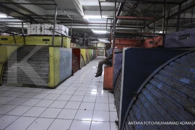 Banyak pengunjung kecele Pasar Tanah Abang tutup