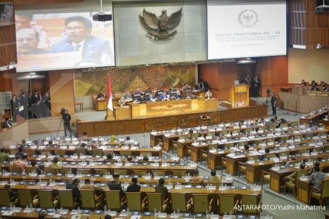 Masa sidang selesai, DPR tak cetak satupun UU