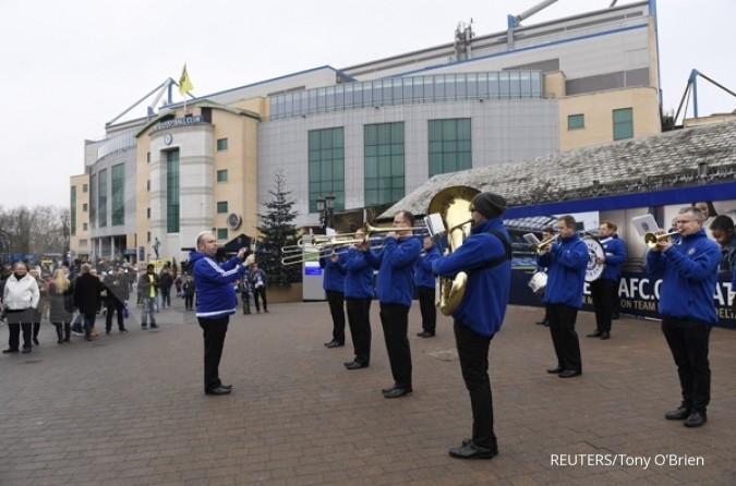 CHELSEA di stadion Stamford Bridge