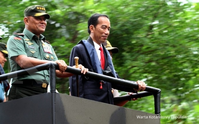 Jokowi akan tindak tegas pengganggu persatuan