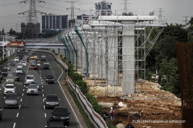 Jakarta LRT set to operate in 2019