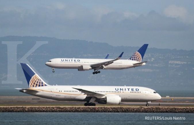 United Air kembali usir penumpang dari pesawat