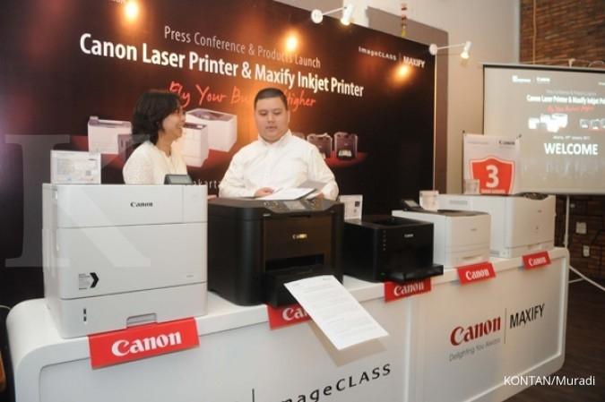 Canon keluarkan printer untuk pasar UKM