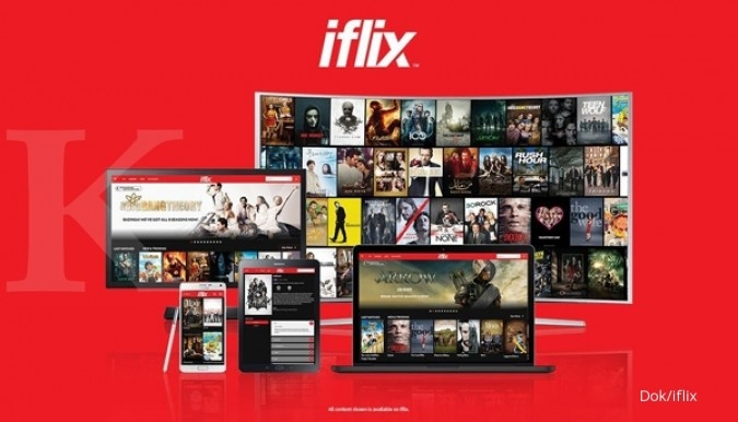Iflix: Potensi penonton video on demand masih besar