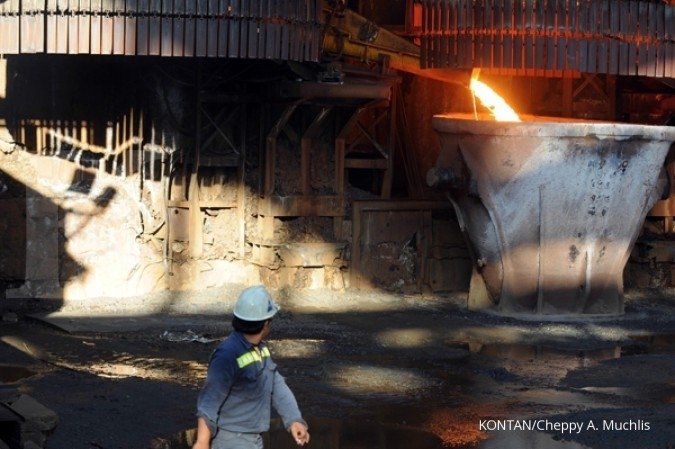 Pelemahan laba industri China jatuhkan harga nikel