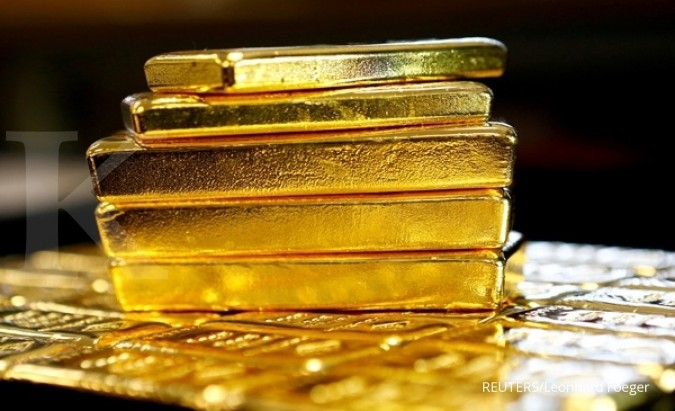 Optimisme dollar jegal kenaikan harga emas