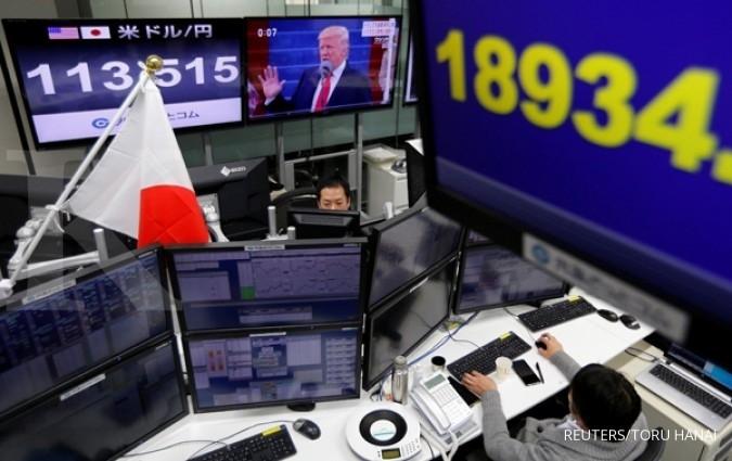 Bursa Asia jatuh, Nikkei turun 1%,