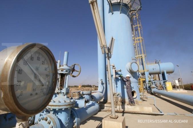 Stok meningkat, gas alam justru makin melaju