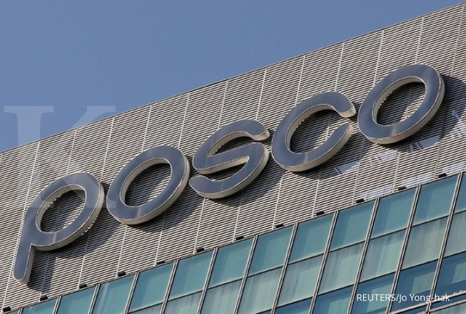 Laba operasi Posco naik