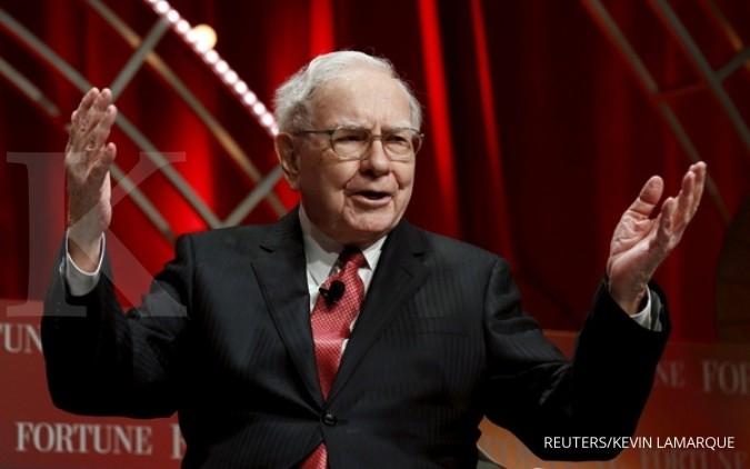 Warren Buffett jual sepertiga saham IBM miliknya