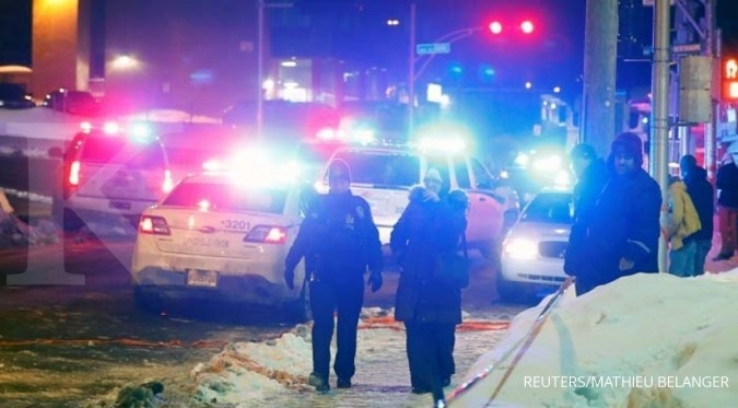 Penembakan di Masjid Quebec, lima orang tewas