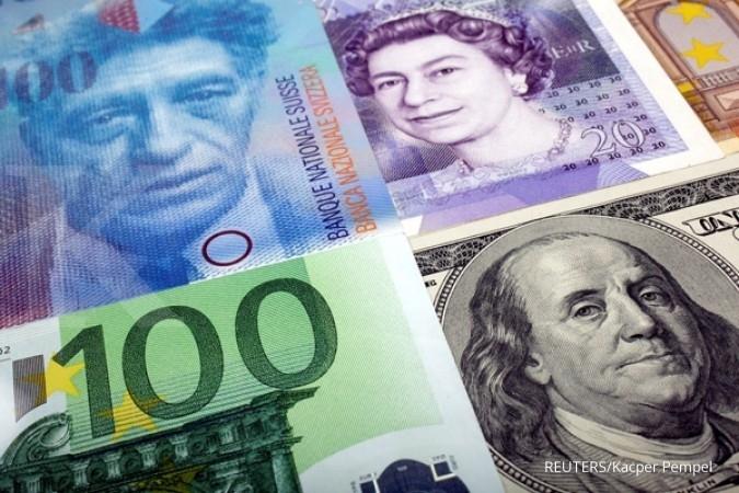 Minim sentimen positif, euro tetap mengungguli GBP
