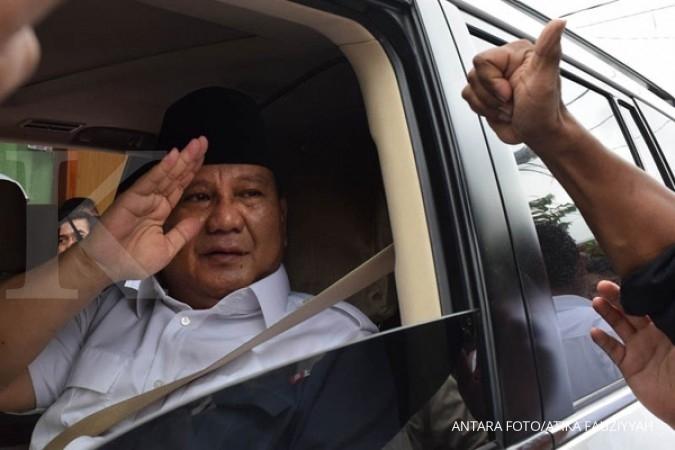 Prabowo: Kalau niatnya baik, disadap tidak apa-apa