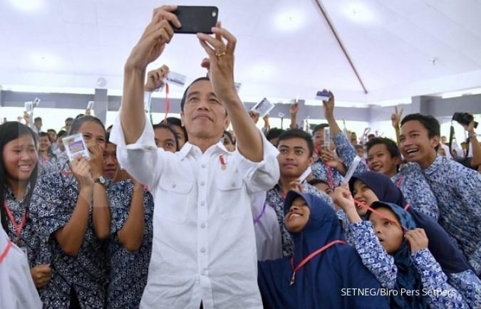 Jokowi ingatkan dana KIP jangan dibelikan pulsa