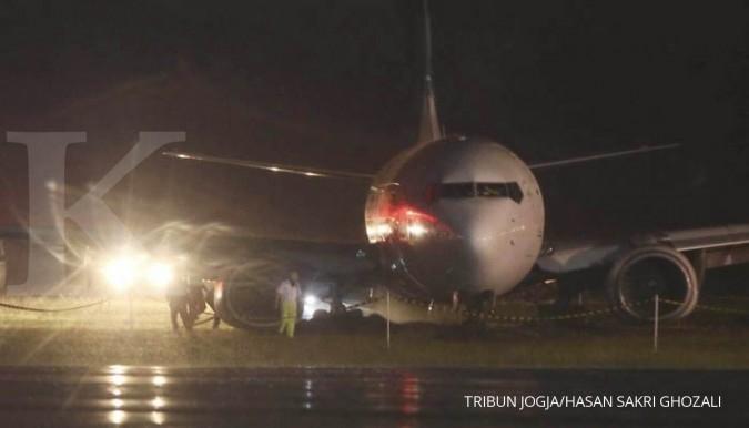 Penerbangan Garuda ke Yogya dialihkan ke Solo