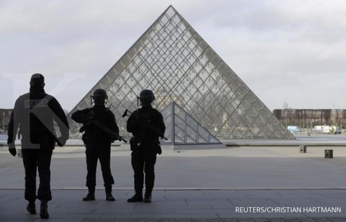 Polisi Prancis kembali mendapat serangan teror