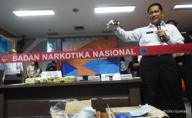 Bekas rumah bos narkoba diubah jadi markas BNN