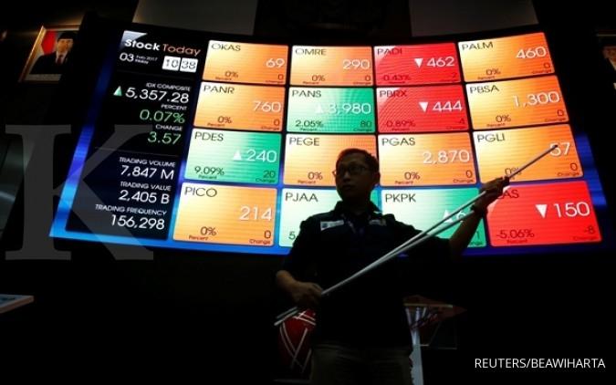 Bank CCB buka perdagangan Bursa hari ini