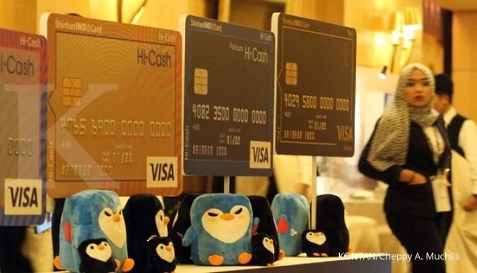 Shinhan masuk bisnis kartu kredit