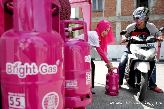 Pertamina sudah siapkan 25 ribu Bright Gas 5,5 kg